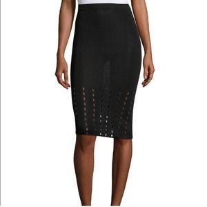 Snowflake Hem Tube Skirt